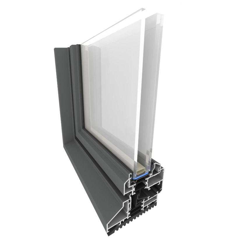 Modern aluminium windows producer